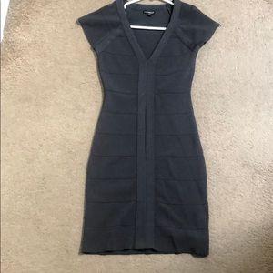 Express midi gray dress size xs